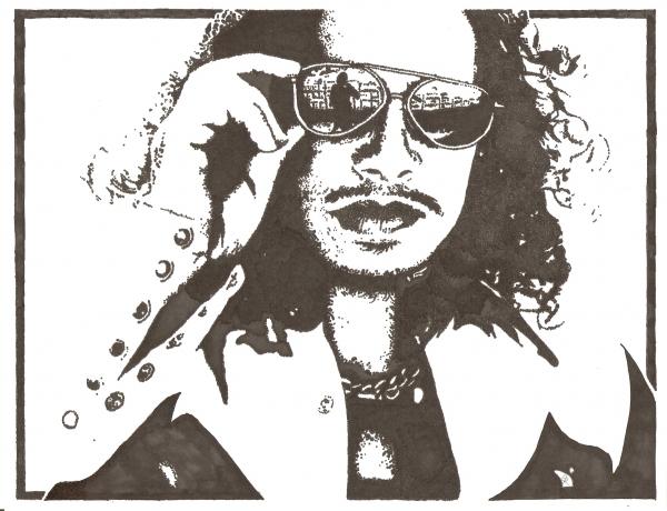 Kirk Hammett by vidaddict
